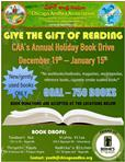 CAA Annual Book Donation Drive